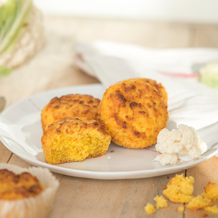 Cauliflower Corn Bread