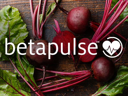 Betapulse brand on red beet picture