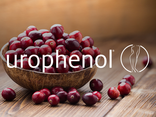 Urophenol brand on cranberry picture