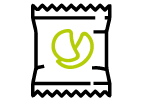 Snacks and seasonings icon