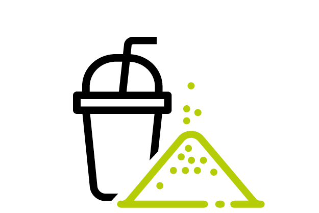 Powder drinks icon